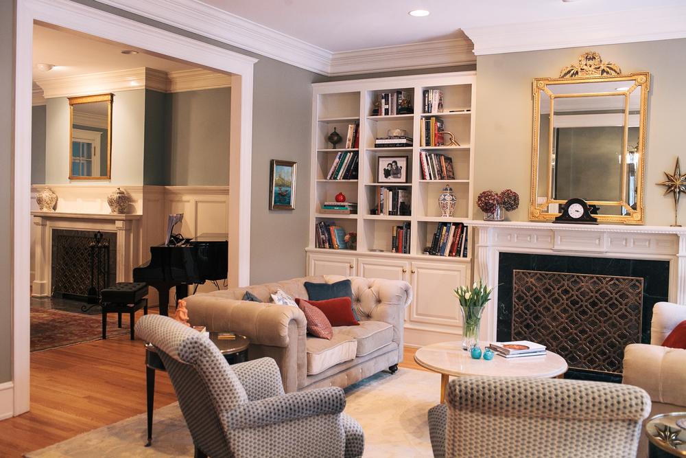 Dc Row House Holly O Brian Interior Design
