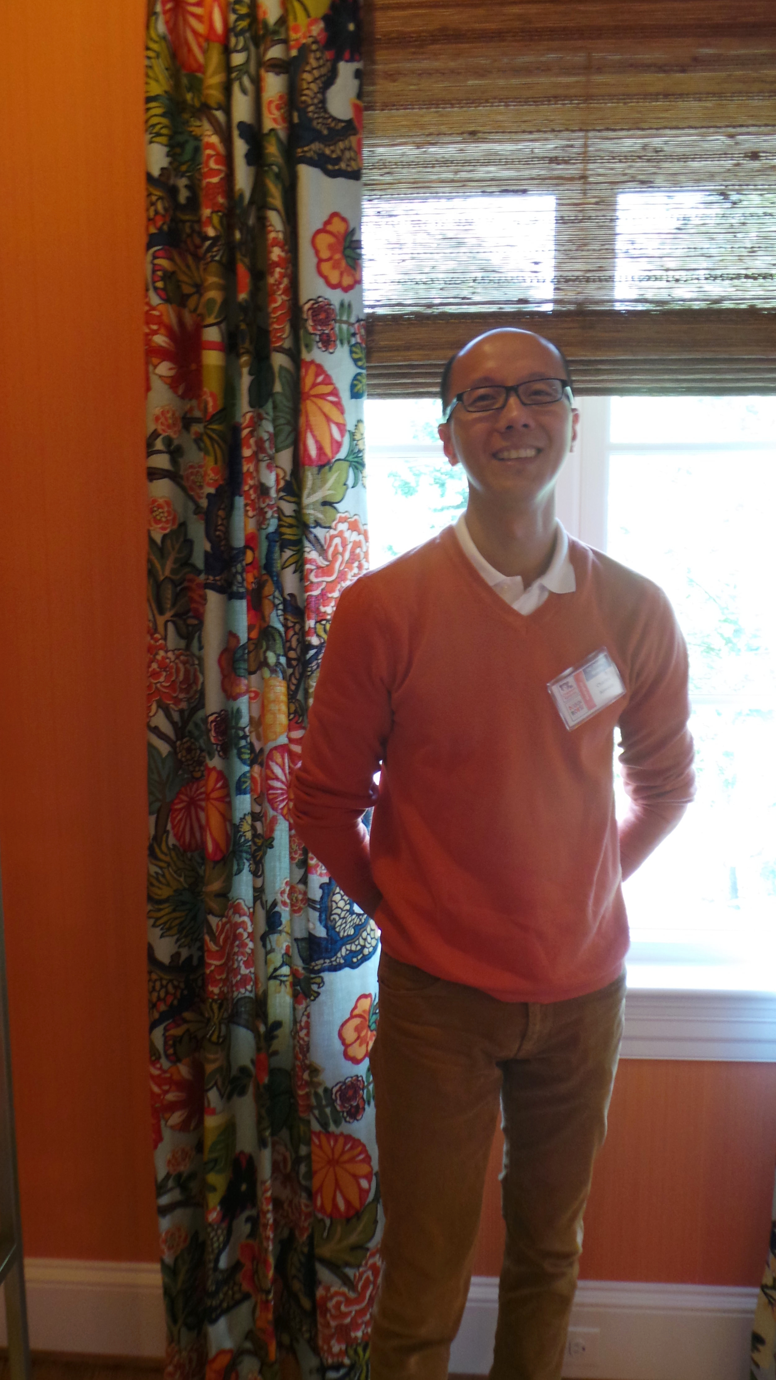 Charles C. Almonte (Interior Designer/Architect); photo by Holly O'Brian
