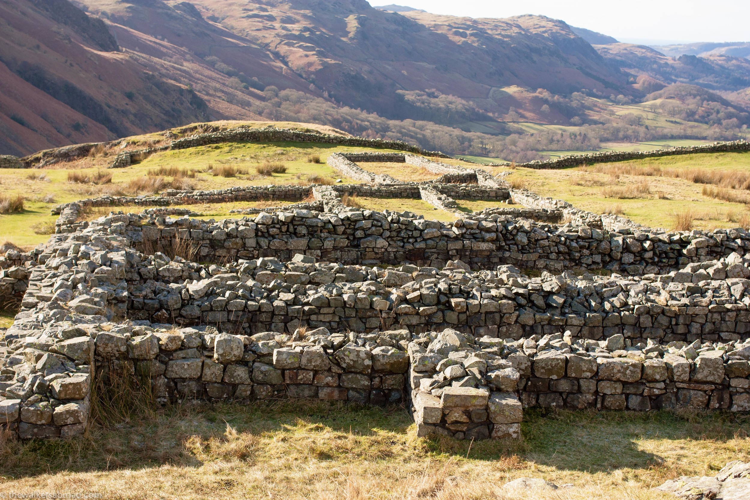 Roman Fort in The Lake District