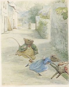 Stoney Lane in the Tale of Samuel Whiskers.