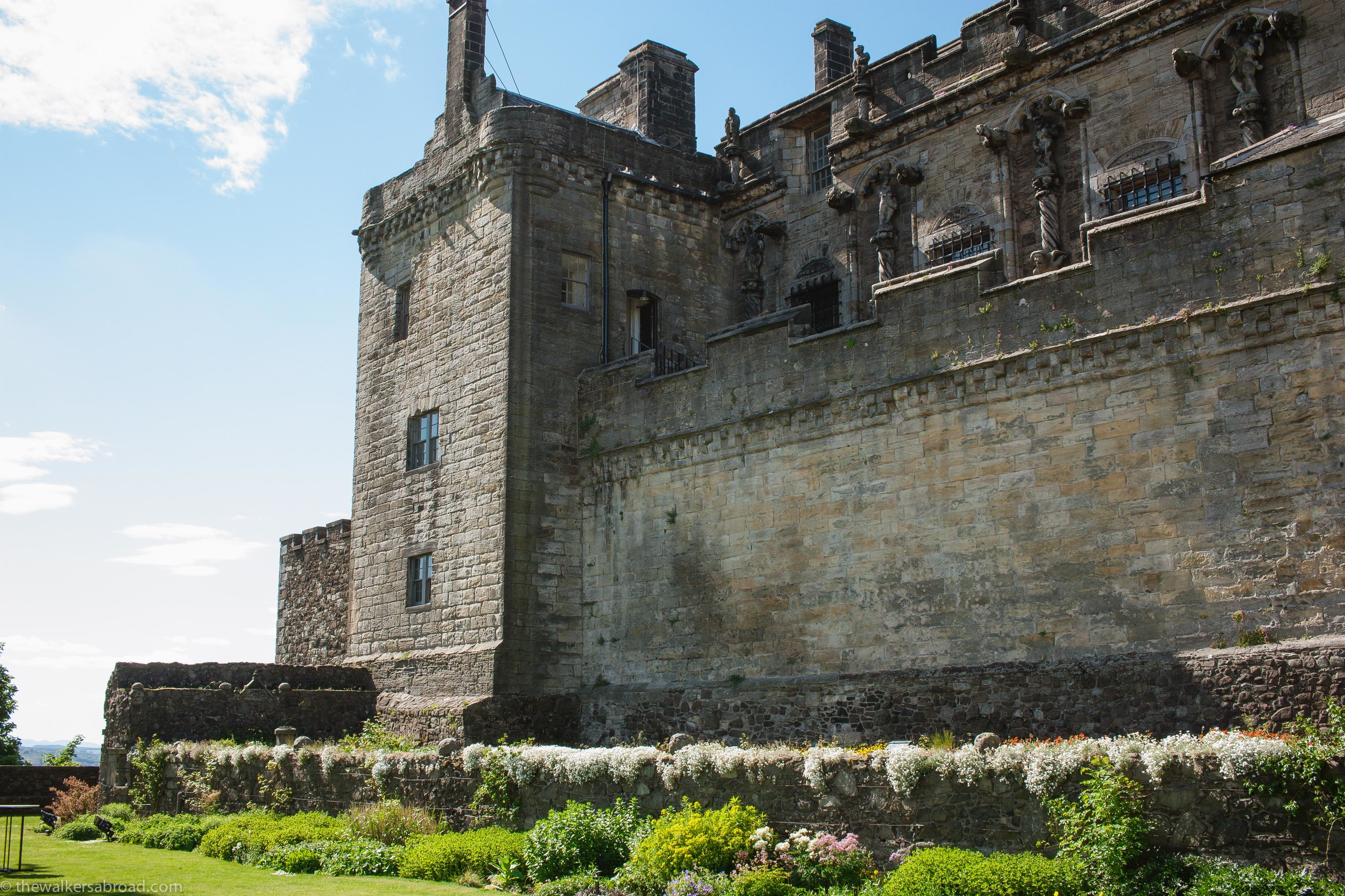 Queen Anne's Garden, Stirling Castle