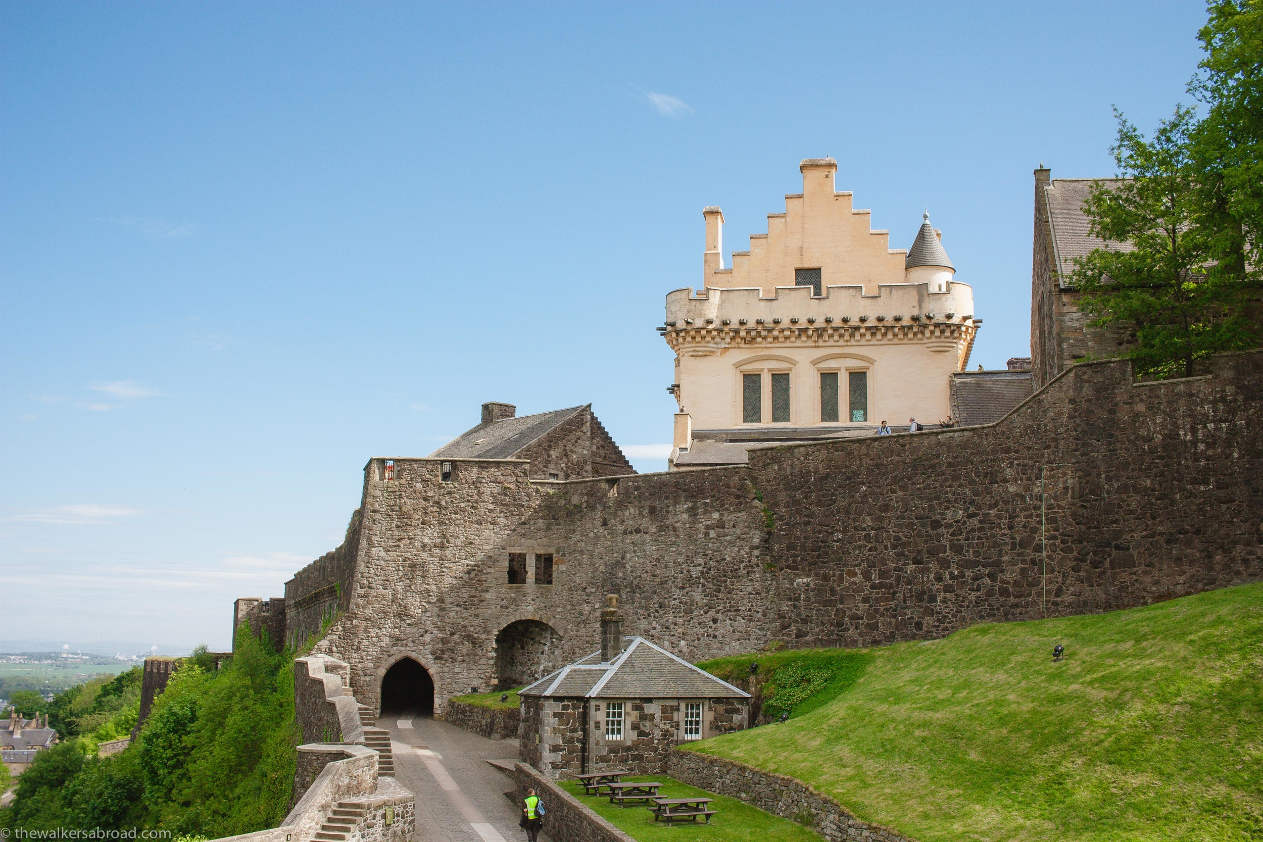 The North Gate dates from the 1380s.