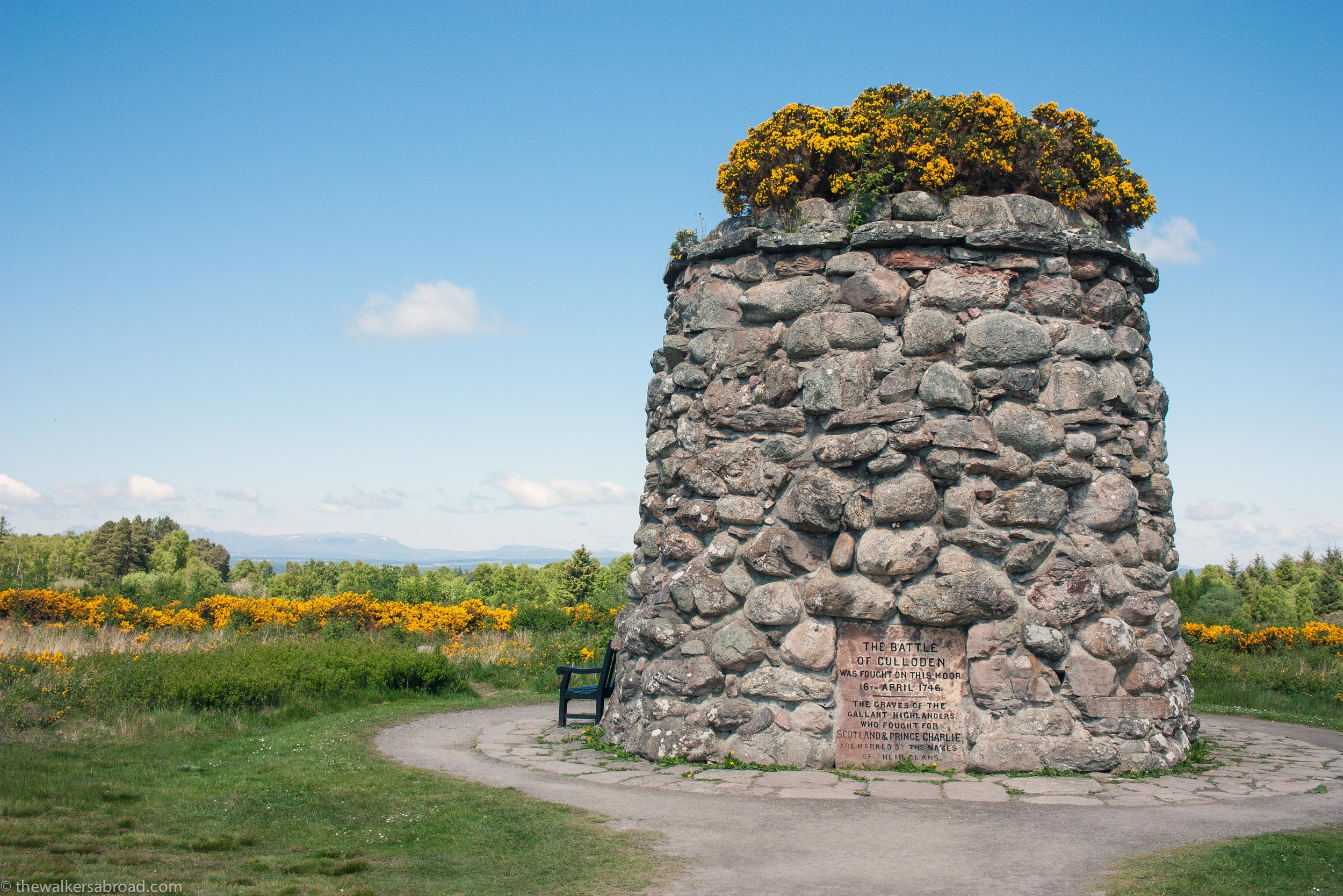 Memorial at Culloden