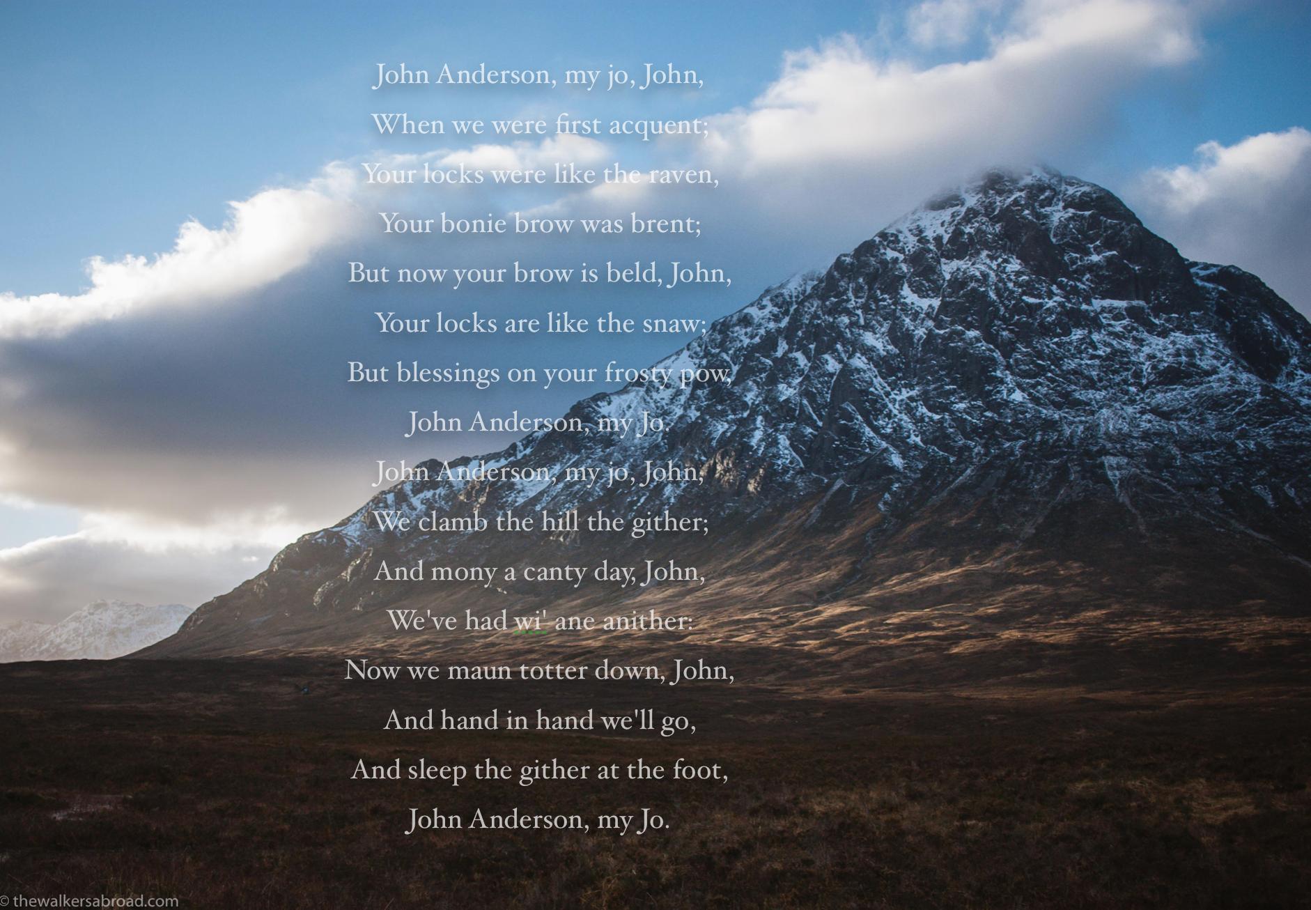 John Anderson, My Jo