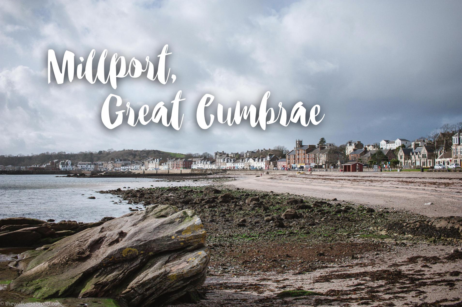 Millport Cumbrae Scotland Island Town