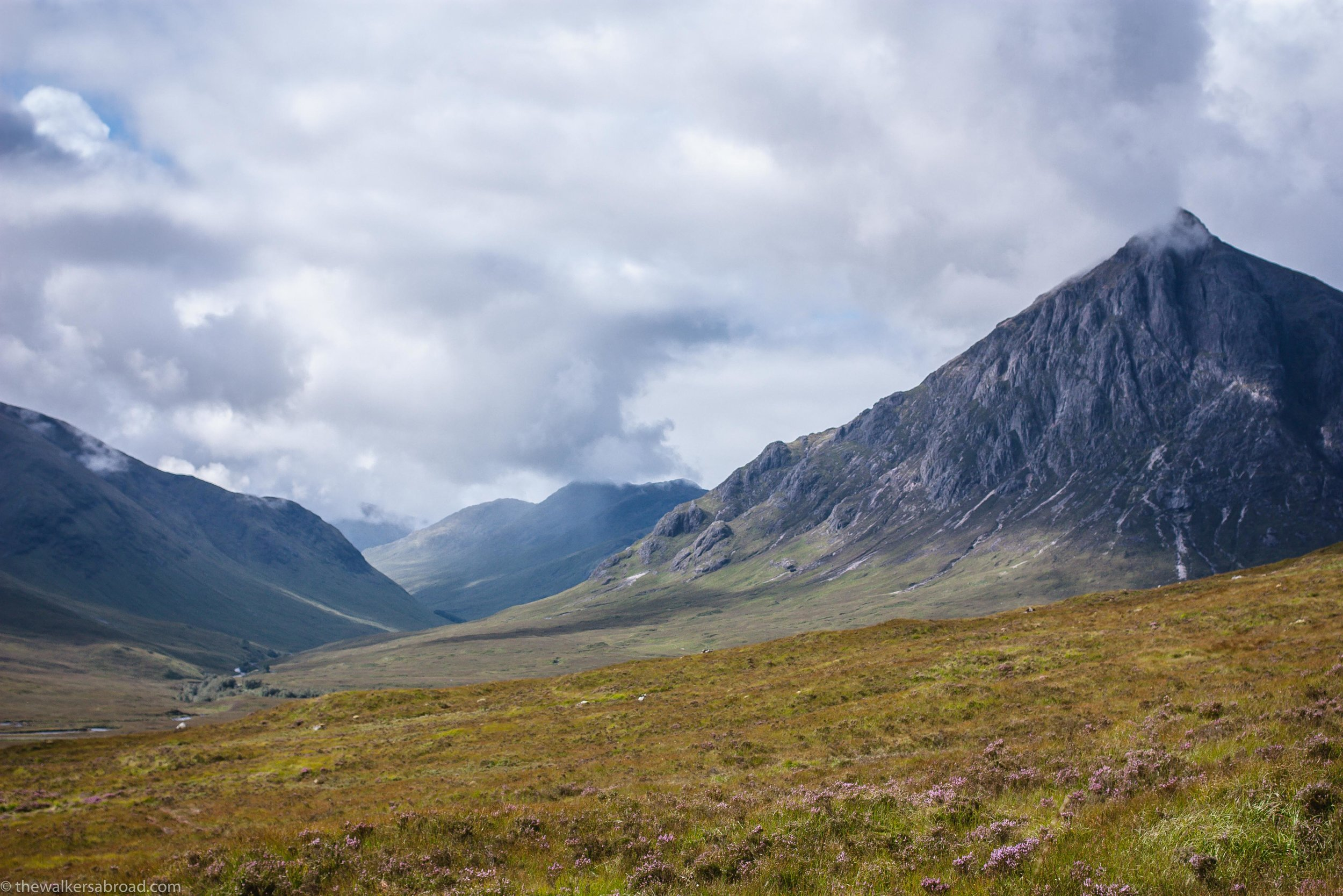 From earlier this year as I hiked through part of Glencoe.