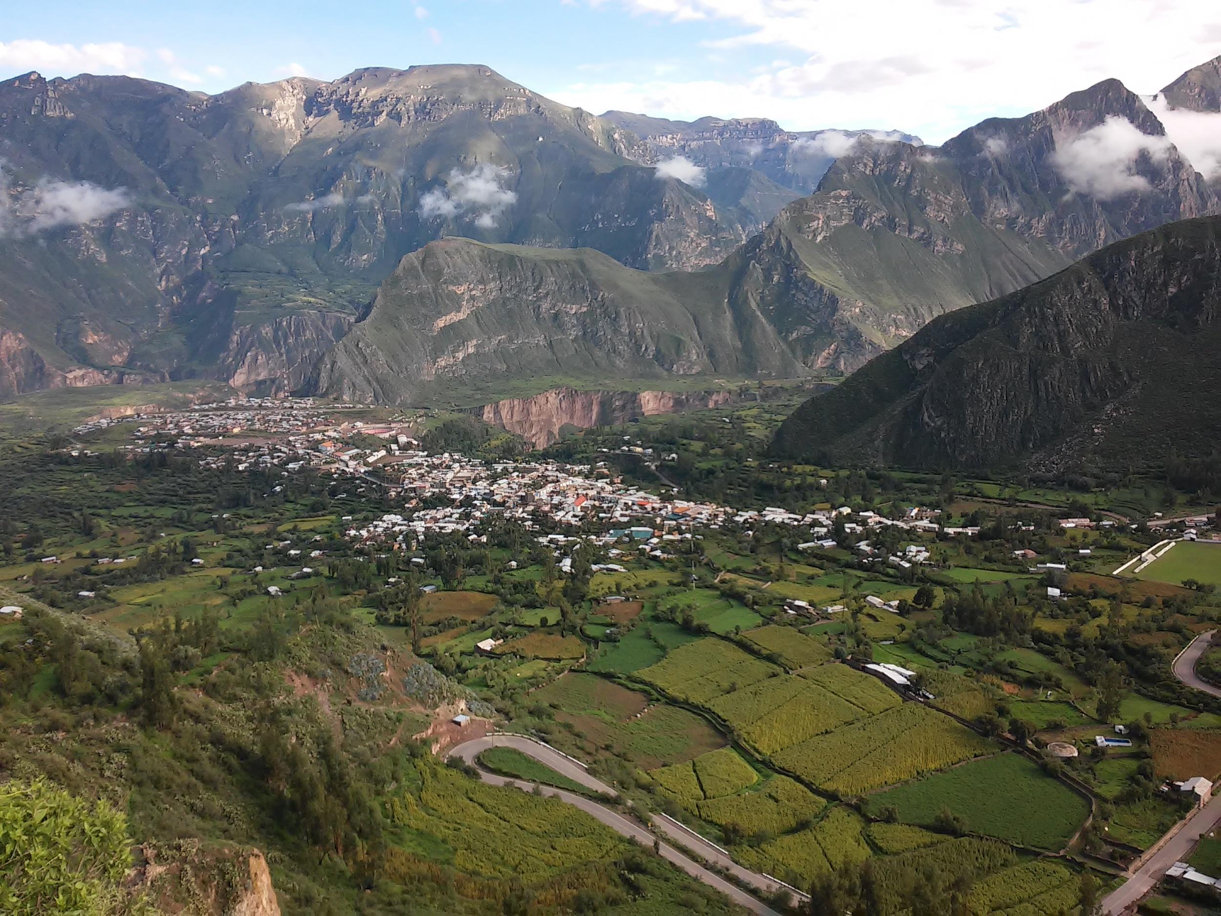 The town of Cotahuasi