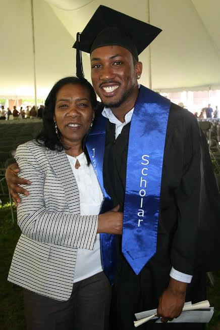 Me and my mom at my undergradate commencement ceremony. Circa 2012.