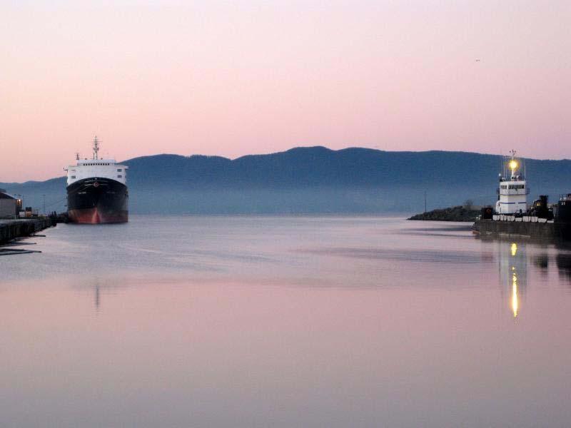 Bellingham Harbor.