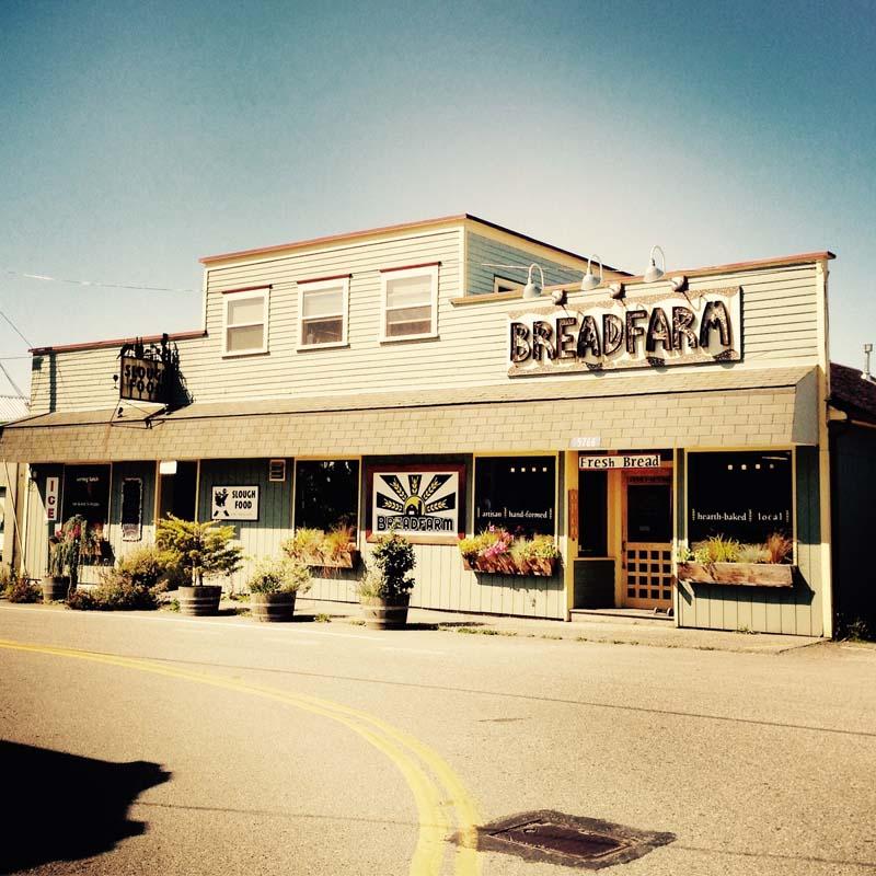 Breadfarm Main Store in Edison, WA.