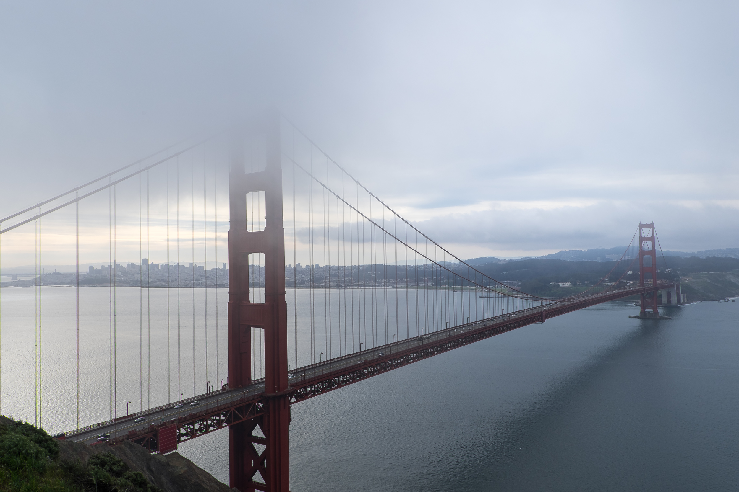 The first place I headed after landing in San Francisco was the Golden Gate Bridge. 1/200 @ f9, ISO 200.