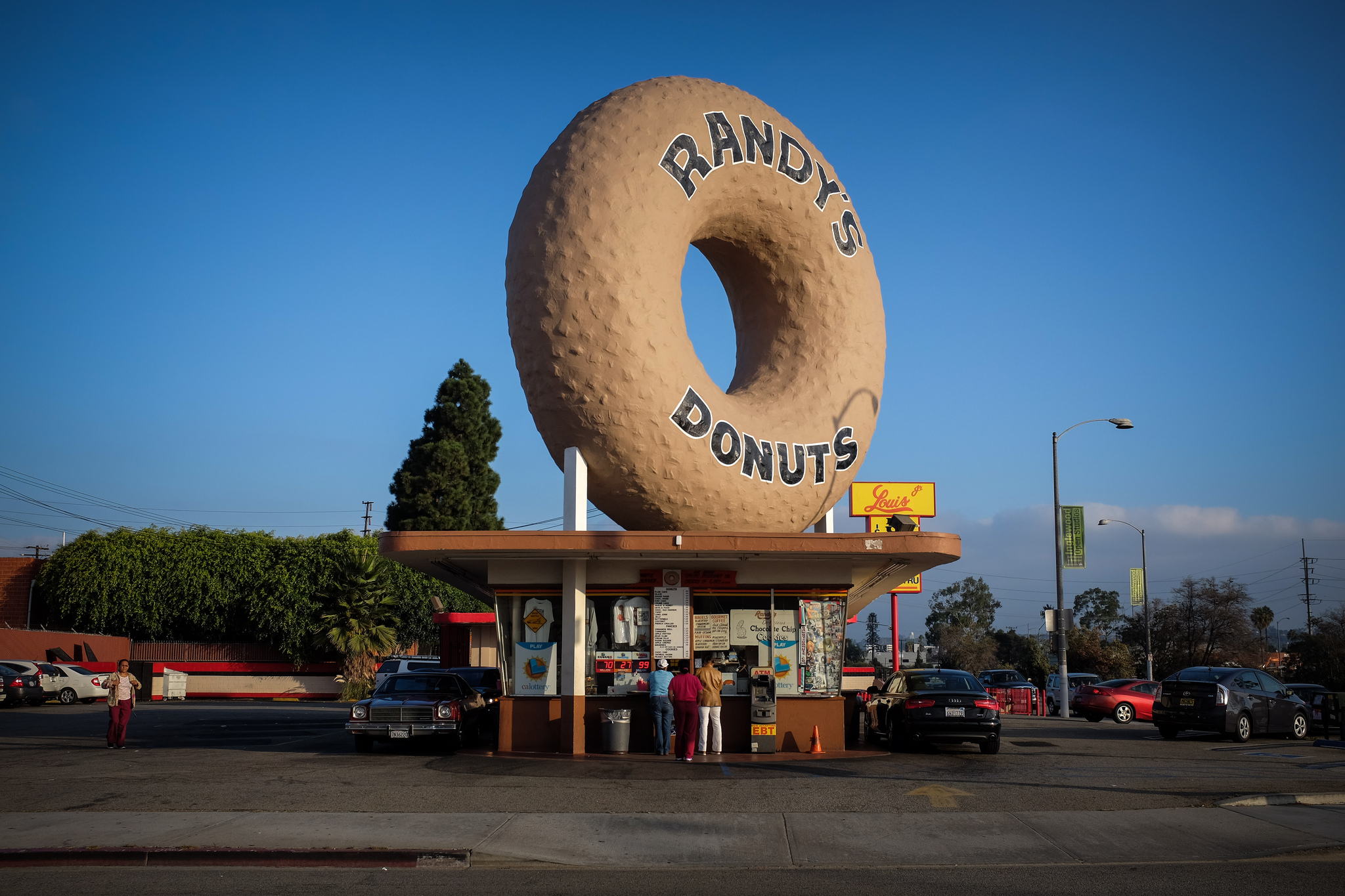 Randy's Donuts in Inglewood, Calif., near Los Angeles International Airport.