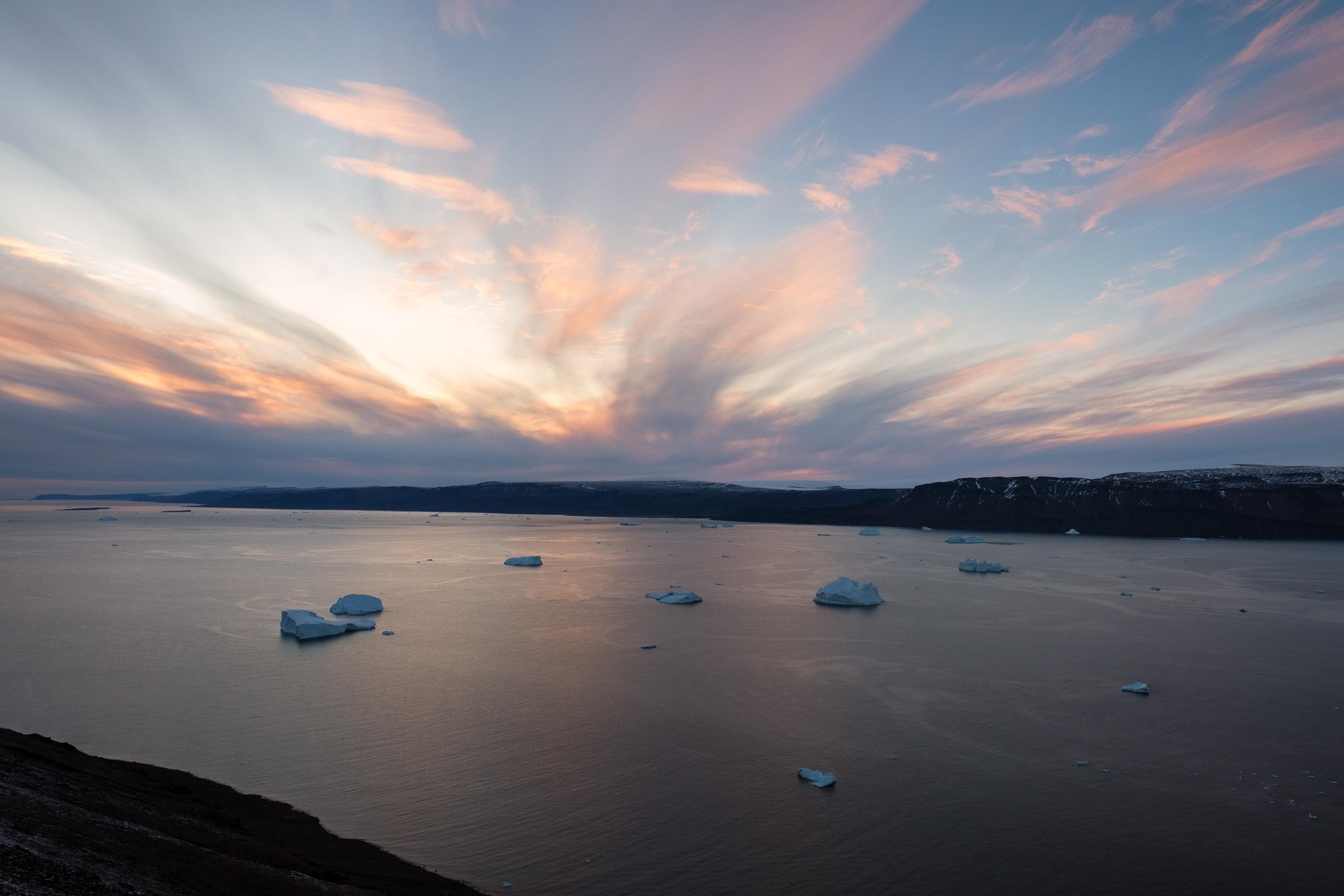 Wolstenholme Fjord, Greenland