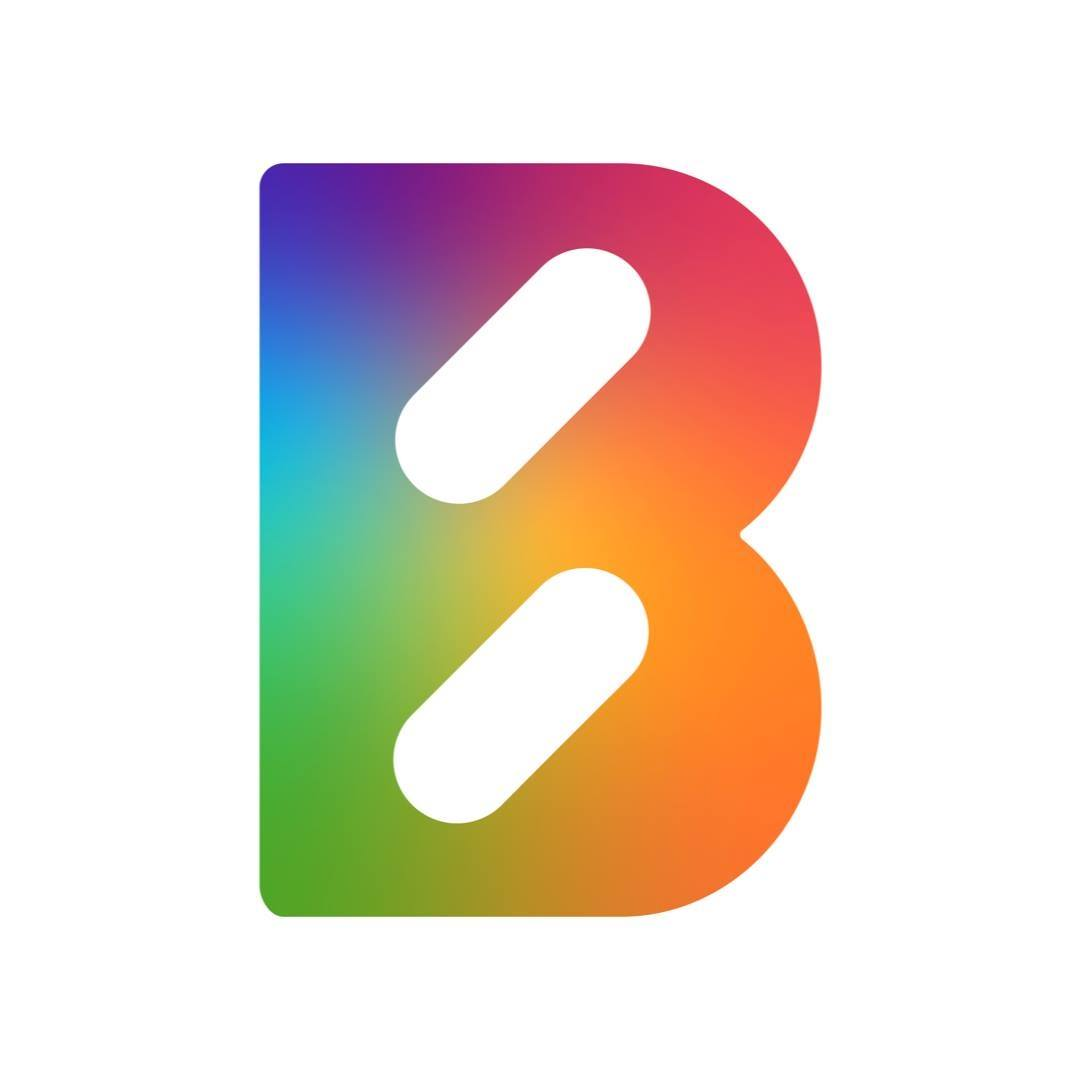 Pride Month Logo! Their Diversity & Inclusion Council was so thrilled to see this :)