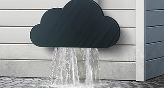 cloud drain detail