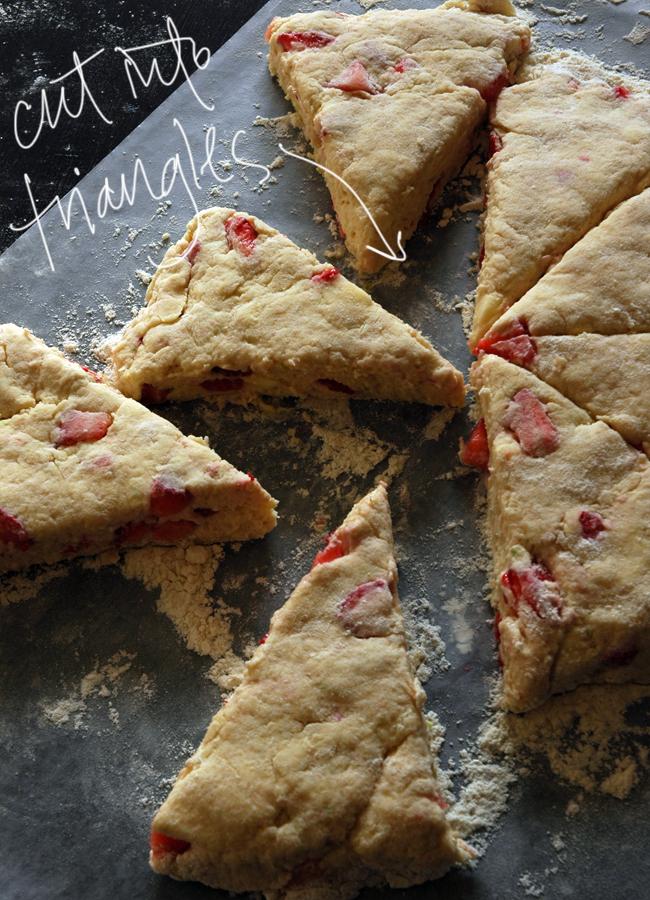 strawberry scones 4 via courtney khail
