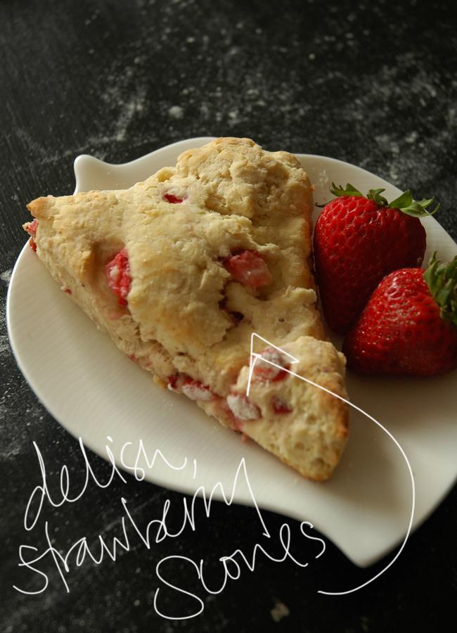 strawberry scones 5 via courtney khail