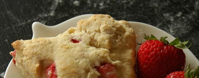 strawberry scones via courtney khail