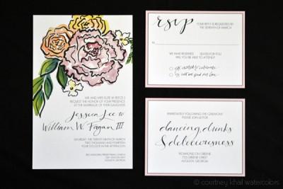 jessica_and_will_invitation via courtney khail