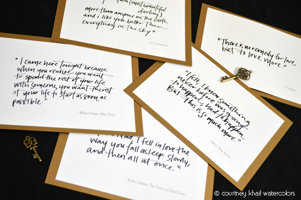 jessica_and_will_table cards2 via courtney khail
