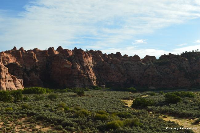 day 2 zion kolob canyon