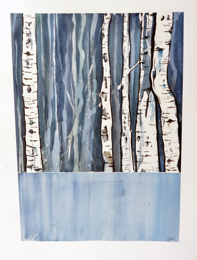 Midnight Aspen by Courtney Khail