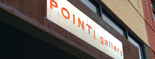 new trends show at the point gallery via courtney khail