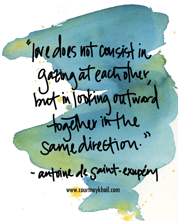 watercolor quote by courtney khail