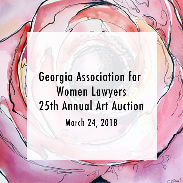 GAWL Art Auction - March 24, 2018Courtney Khail's painting, Claire de Lune, will be included in this year's Georgia Association for Women Lawyers 25th Annual Art Auction.