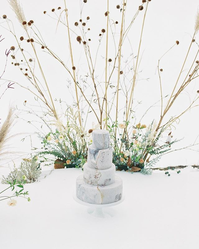 Saying goodbye to the last winter snow and welcoming spring with open arms  Planning: @banksandleaf  Photography: @mckenziecoylephotography Flowers: @laruefloral