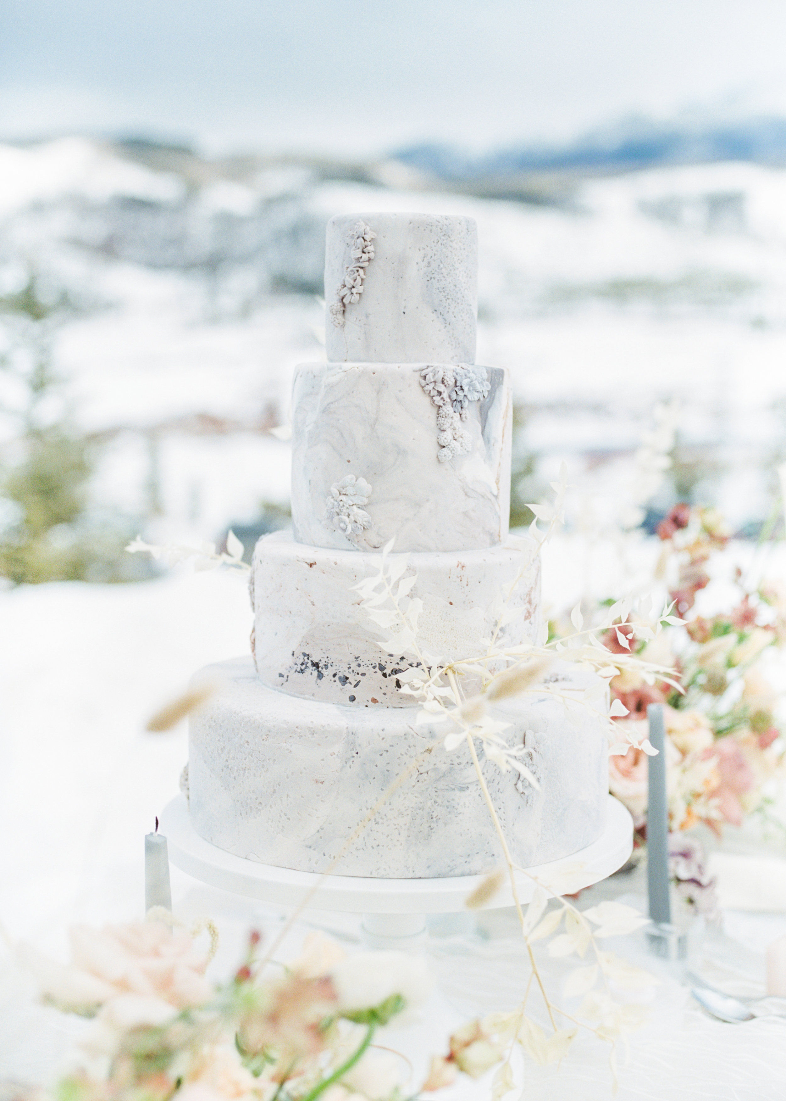 Early Spring Wedding in the Mountains