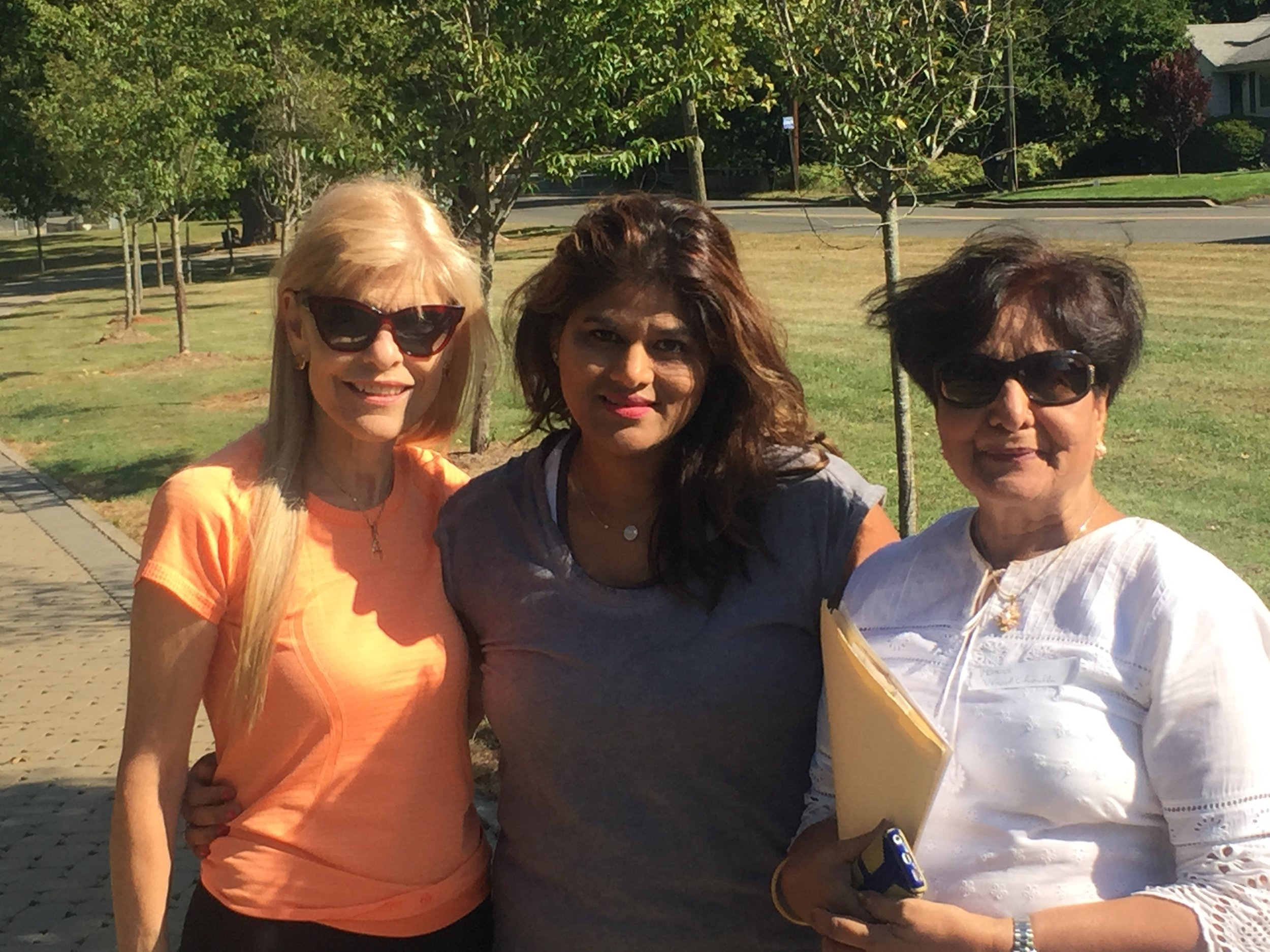 fundraising walk-a-thon