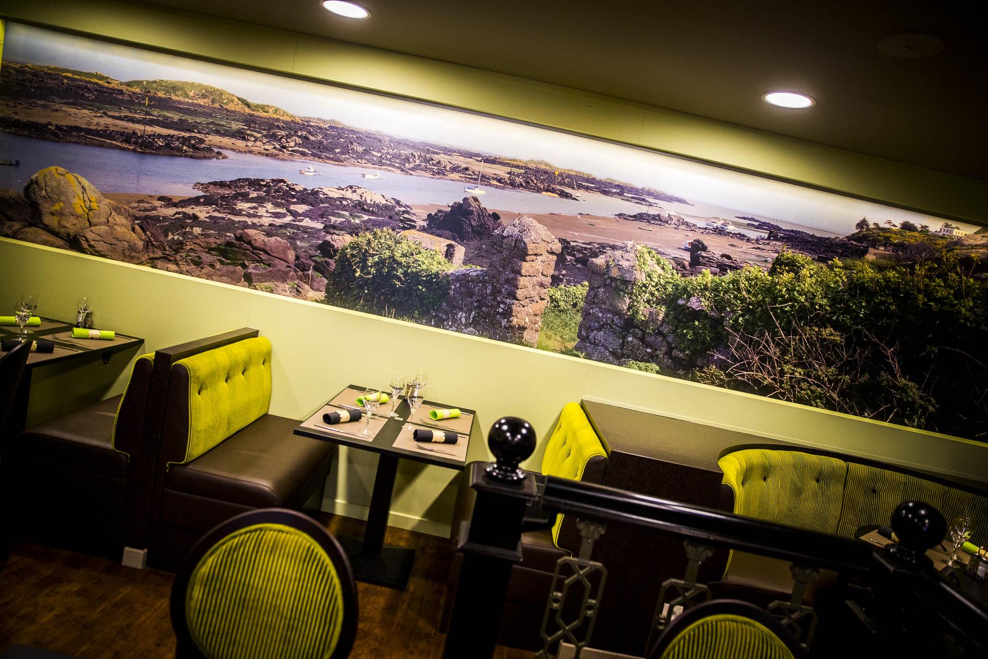 Salle du restaurant Café le Pirate Granville