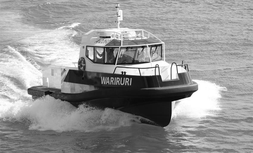 Aluminium Fishery Inspection Boats