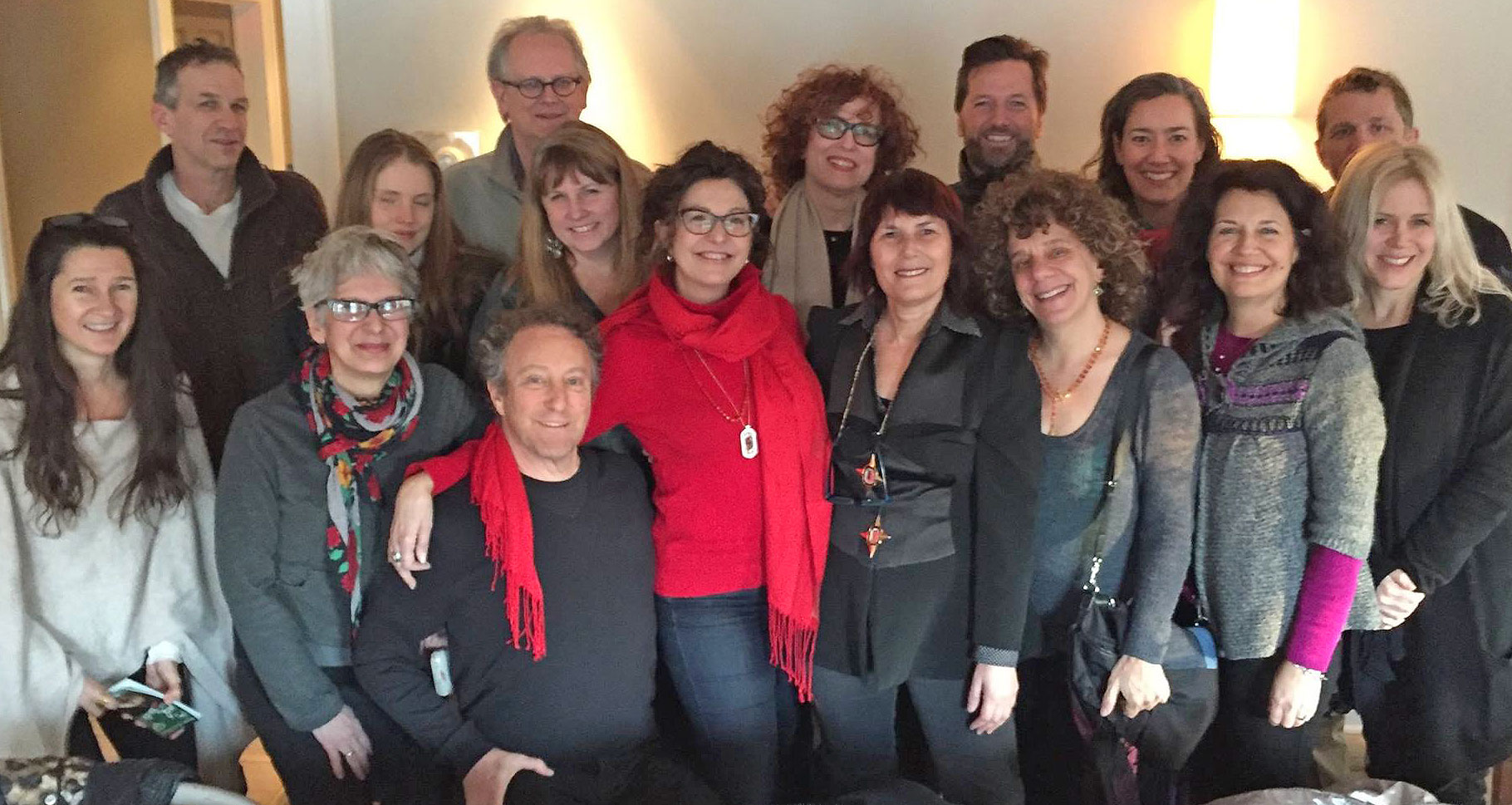 Critically acclaimed filmmaker and award-winning producer  Janet Grillo gathered with friends at  Cucina  following the special screening of JACK OF THE RED HEARTS in Woodstock.