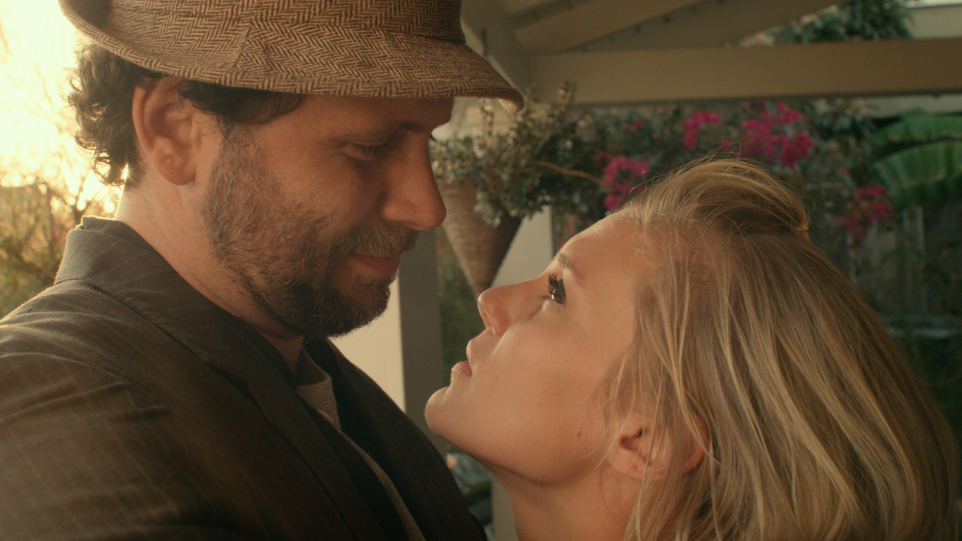 Katee Sackhoff and Jeremy Sisto in Girl Flu., directed by Dorie Barton