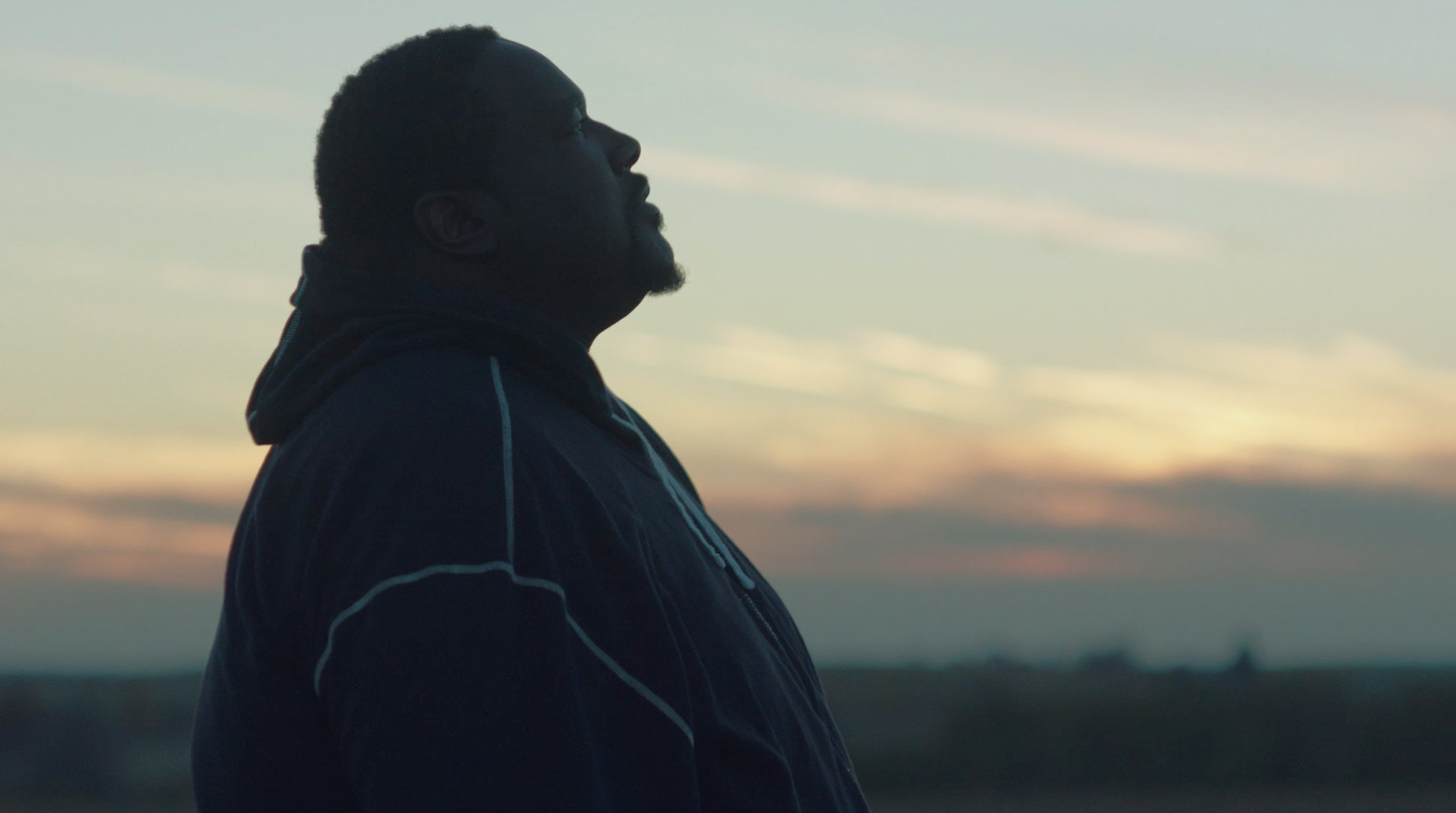 Quinton Aaron in Halfway, directed by Ben Caird