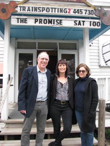 Bill Horberg at the Woodstock Film Festival special screening of THE PROMISE, with WFF executive director Meira Blaustein and casting director Avy Kaufman