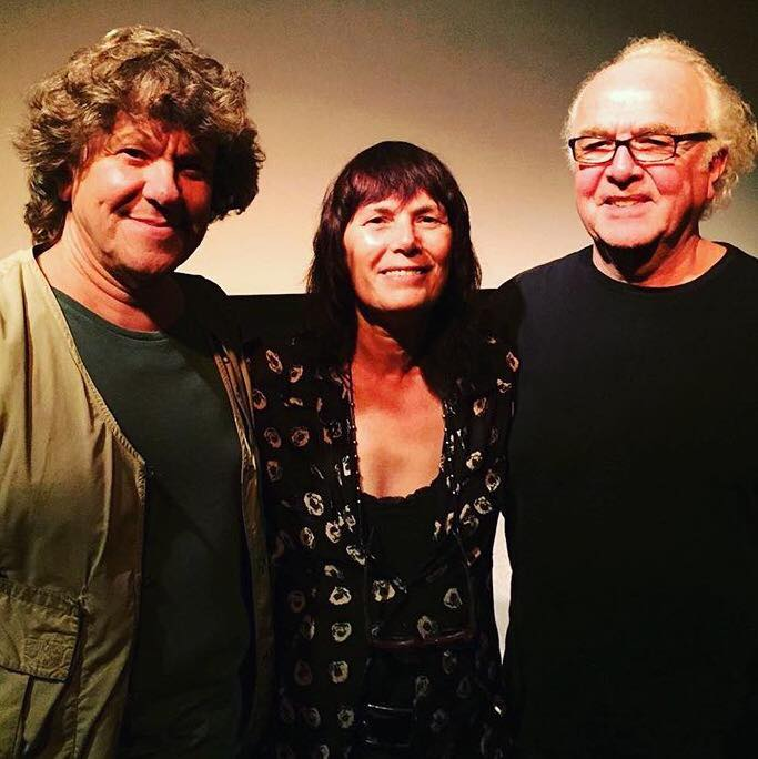 Meira Blaustein with Michael Lang and John Edginton at the JOE COCKER: MAD DOG WITH SOUL screening