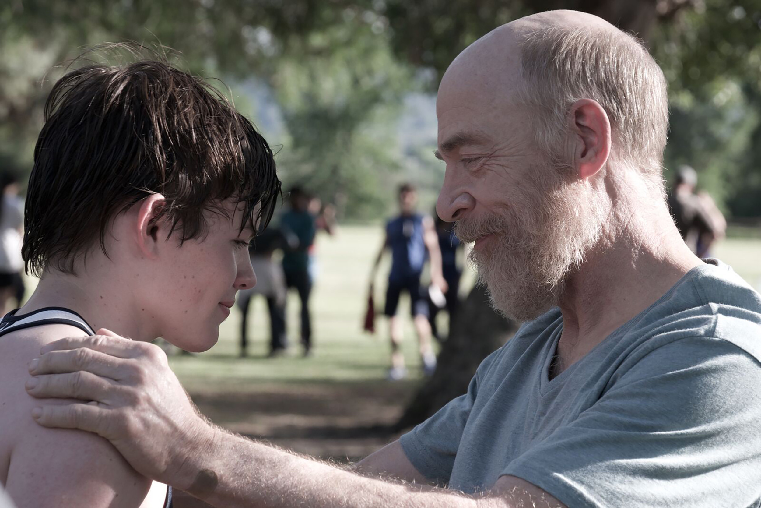 JK Simmons and Josh Wiggins, in The Bachelors, directed Kurt Voelker