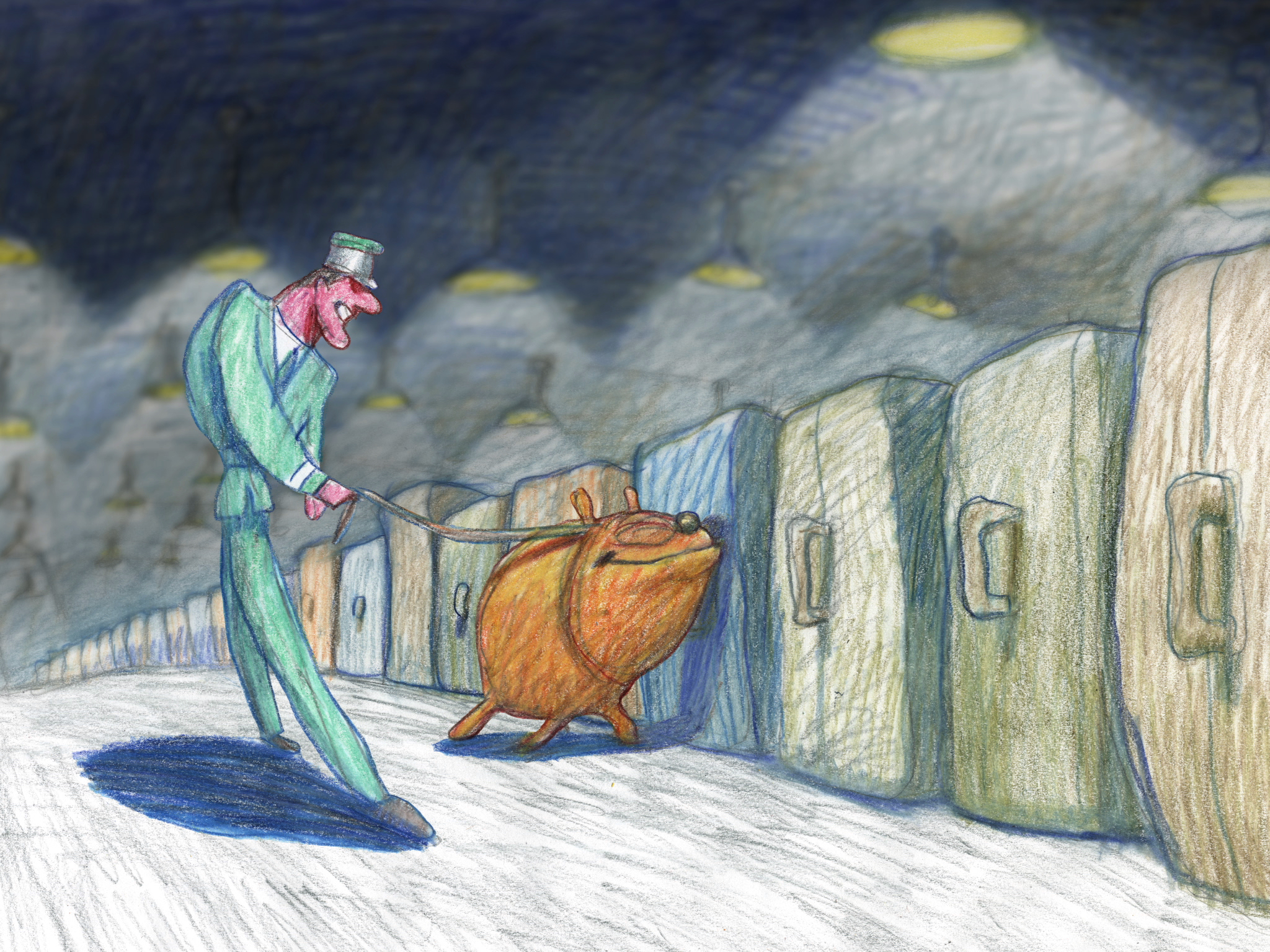 Cop Dog, directed by Bill Plypton