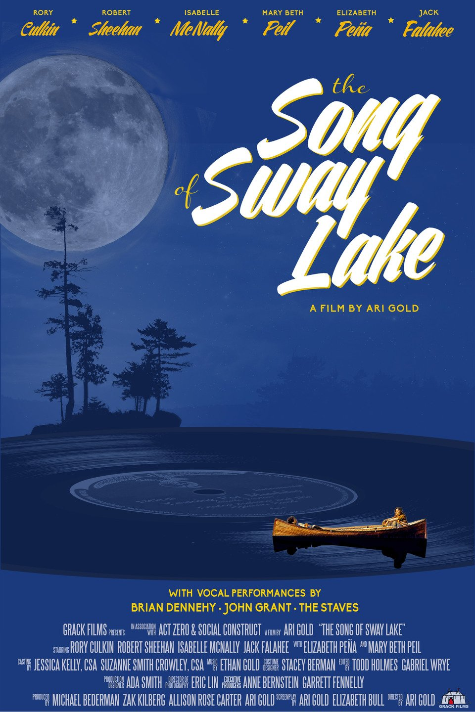 THE SONG OF SWAY LAKE - Directed by Ari Gold - USA / 2017 / 101 minutes