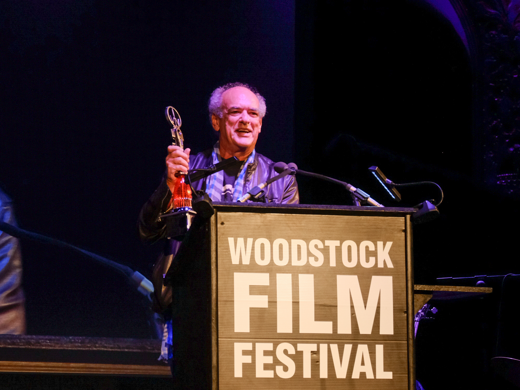 Shep Gordon at 2017 Woodstock Film FestivalMaverick Awards