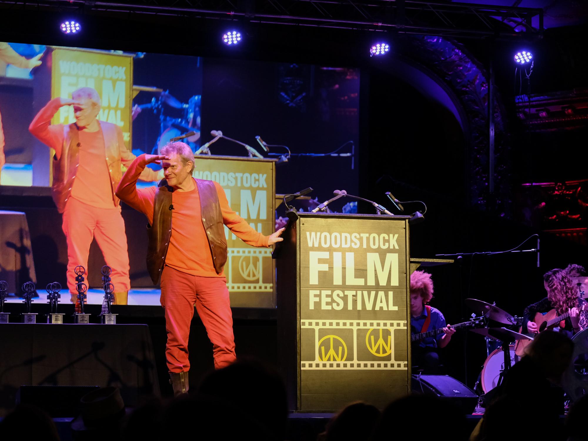 Philippe Petit at the 2017 Maverick Awards