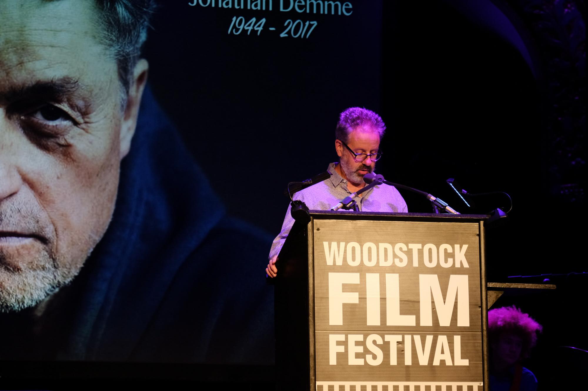 Peter Saraf at the 2017 Maverick Awards at the 2017 Woodstock Film Festival