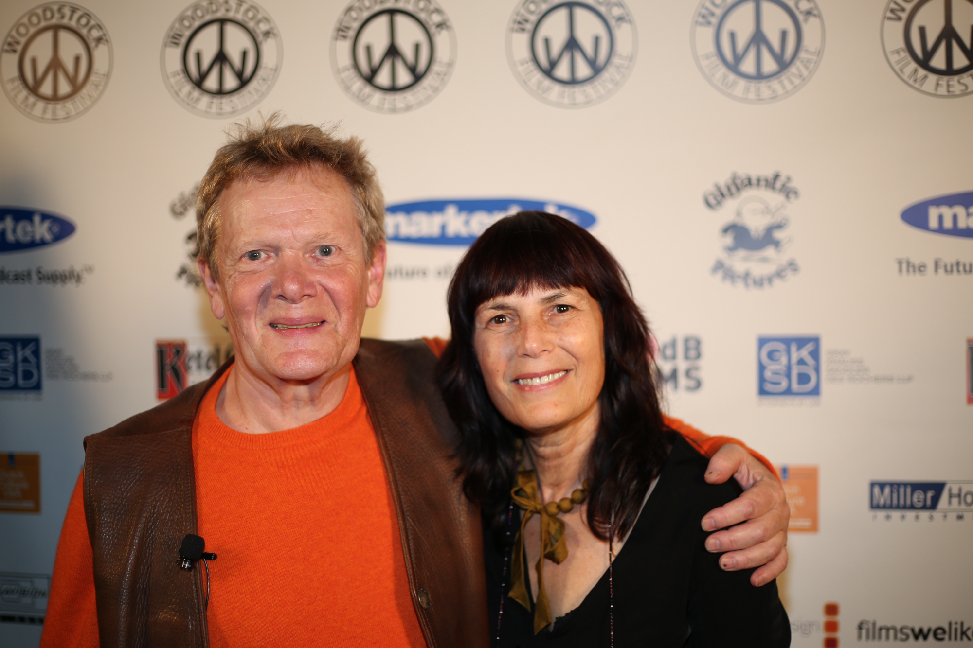 Philippe Petit and Meira Blaustein