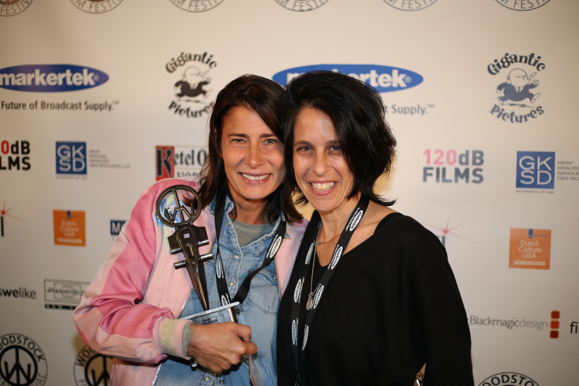 Hope Litoff and Beth Levison, winner of Best Editing for Documentary