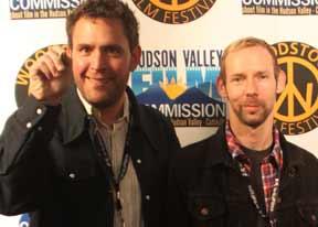 Donal Mosher at the 2009 Woodstock Film Festival