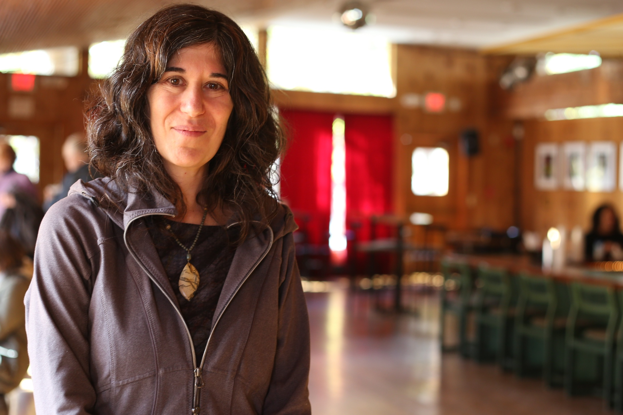 Debra Granik  attending one of her screenings at the 2014 Woodstock Film Festival