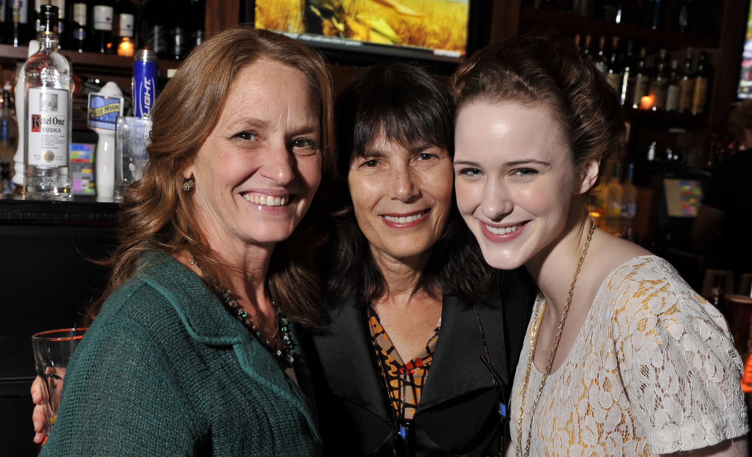 Melissa Leo, Meira Blaustein and Rachel Brosnahan at 2011 Woodstock Film Festival